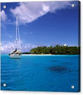 South Pacific Anchorage Acrylic Print