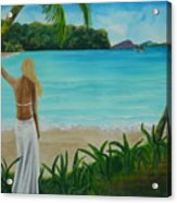 South Pacific Dreamin Acrylic Print