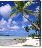 South Pacific Acrylic Print