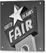 South Plains Fair Acrylic Print