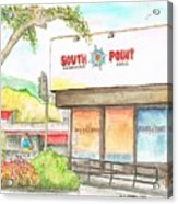 South Point Restaurant, West Hollywood, California Acrylic Print