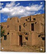 South Pueblo Taos Acrylic Print
