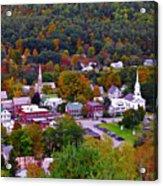South Royalton Vermont Acrylic Print