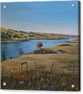South Saskatchewan River Acrylic Print