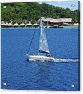 South Sea Sail Acrylic Print