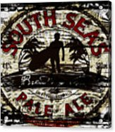 South Seas Pale Ale Sign Acrylic Print