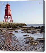 South Shields Groyne Acrylic Print