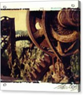 South Side Machine Detail 2 Acrylic Print