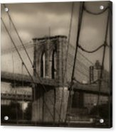 South Street Seaport Acrylic Print