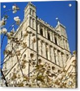 South Tower Exeter Cathedral Acrylic Print