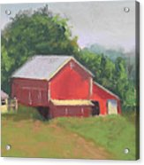 South View Of Meyer Farm Acrylic Print