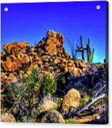 Southbound On Us 93 Acrylic Print