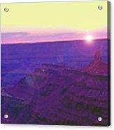 Southeastern Utah Sunset 2 Acrylic Print