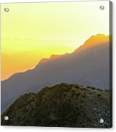 Southern Alps Sunrise Acrylic Print