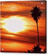 Southern California Sunset Acrylic Print