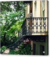 Southern Charm In Savannah  Acrylic Print