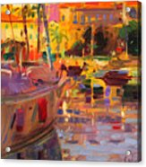 Southern French Port Acrylic Print
