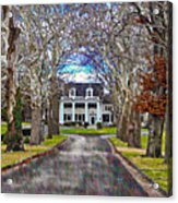 Southern Gothic Acrylic Print