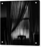 Southern Gothic The Empty Chair Acrylic Print
