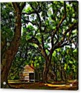 Southern Lane Acrylic Print