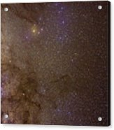 Southern Milky Way Acrylic Print by Charles Warren