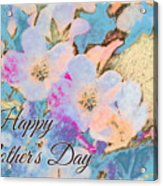 Southern Missouri Wildflowers -1 Mother's Day Card Acrylic Print