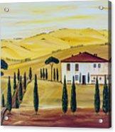 Southern Tuscany Acrylic Print