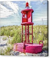 Southernmost Point Buoy- Cape May Nj Acrylic Print