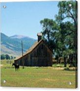 Southfork Barn Acrylic Print