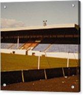 Southport Fc - Haig Avenue - Main Stand 2 - 1970s Acrylic Print
