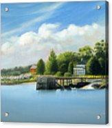 Southport Harbor Acrylic Print