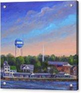 Southport Nc Waterfront Acrylic Print