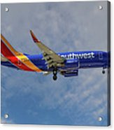 Southwest Airlines Boeing 737-76n Acrylic Print