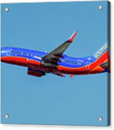 Southwest Airlines Boeing 737-700 Acrylic Print