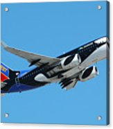 Southwest Boeing 737 Shamu At Sky Harbor April 13 2006 Acrylic Print