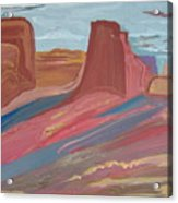 Southwest Granduer Acrylic Print