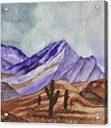 Southwest Landscape IIi Acrylic Print