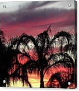 Southwest Sunset Acrylic Print
