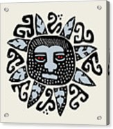 Southwest Tucson Sun Acrylic Print