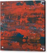 Southwest Usa Colors Acrylic Print