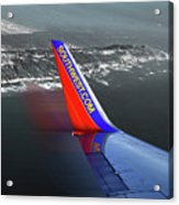 Southwest Wing Acrylic Print