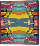 Southwestern Rug Acrylic Print