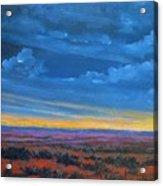 Southwestern Sunset Acrylic Print