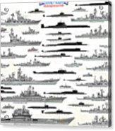 Soviet Navy Acrylic Print