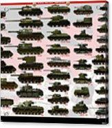Soviet Tanks ww2 Acrylic Print