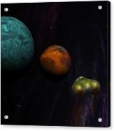 Space 01-26-10 Acrylic Print