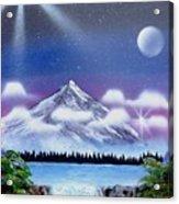 Space Art Acrylic Print by Lane Owen