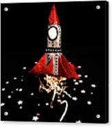 Space Craft Acrylic Print