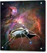 Space Fish Acrylic Print