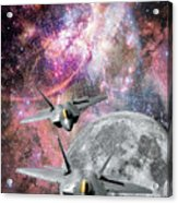 Space Invaders Acrylic Print